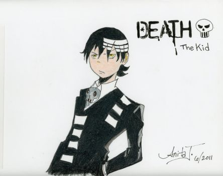 Death The Kid in color: UPDATED by EsBest
