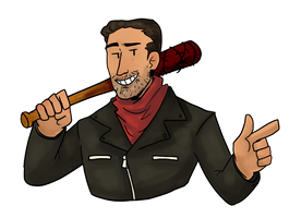 Negan by MeowTownPolice