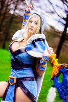 Dota 2 Crystal Maiden by MilliganVick