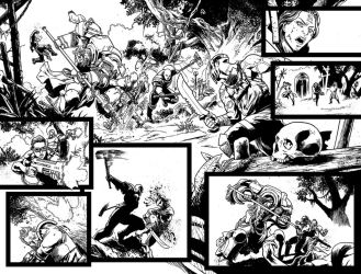 Warhammer 40,000 Revelations #4 pages by Spacefriend-T