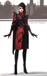 FIELD OF THORNS - GHERDA by Caisne