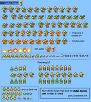 Mecha-Koopa ML:SS Sheet by RidgeTroopa