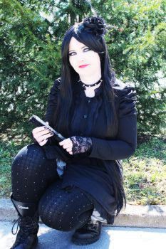 Laura Victoriano_gothic style by MissCaelum