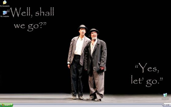 Waiting For Godot by cecily-marla-smith