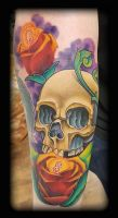 New school by state-of-art-tattoo
