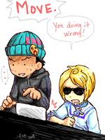 AJ:You're not doing it Wright by ryounkura
