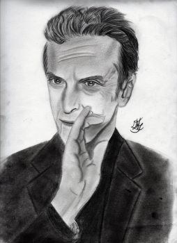 Peter Capaldi by Hollyesque