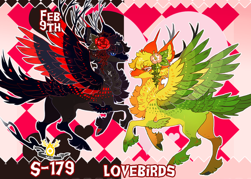 { Stygian Vday 9 } Lovebirds (Dream + Nightmare) by Zoomutt