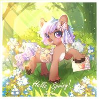 Hello Spring by jusq