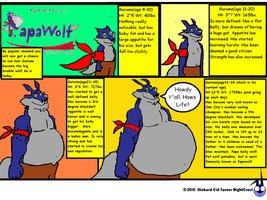 Papawolf comic 21 by NightCrestComics
