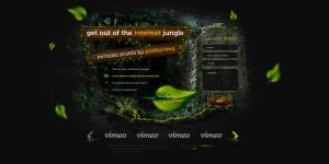 Jungle positioning Landing Page by sk8s