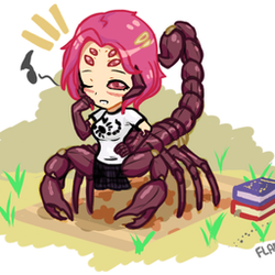 [ Monster Trouble ] - Scorpion Outing - GIF by FlareViper
