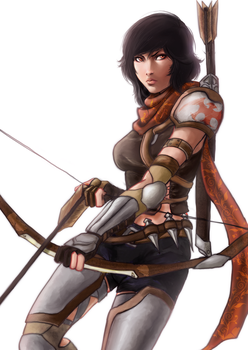 Archer Concept Art by Caiman-Pool