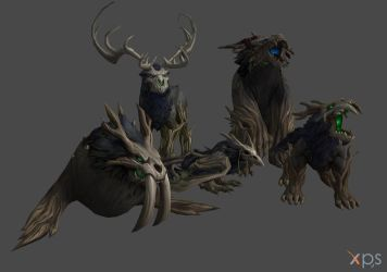Wicker Beasts (From WoW) for XPS/XNA!!! by Jorn-K-Nightmane