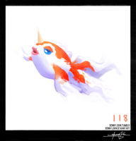 Goldeen!  Pokemon One a Day!
