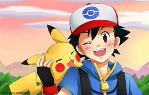 Pokemon BW - Forever Together by LaMenilla