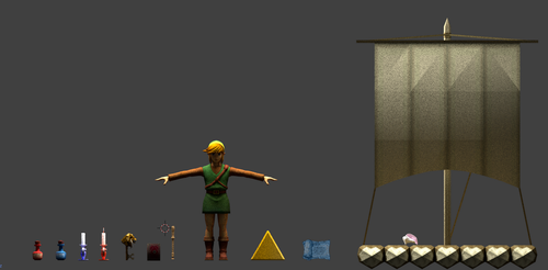 Link and Inventory Items by CheifWahooMcDaniel
