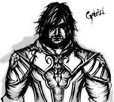 Surely Not Daily Doodle 29 - Gabriel Belmont by tiopalada