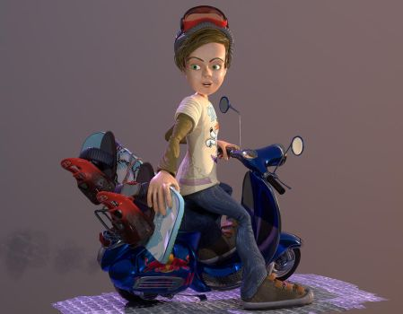 Boyscooter001 by rabaman