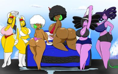 Poke girls car wash... by IGPHHangout