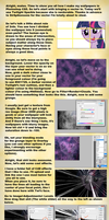 Wallpaper Tutorial (This is old and obsolete) by SandwichHorseArchive