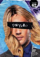'Psycho' Poster by ed-norden