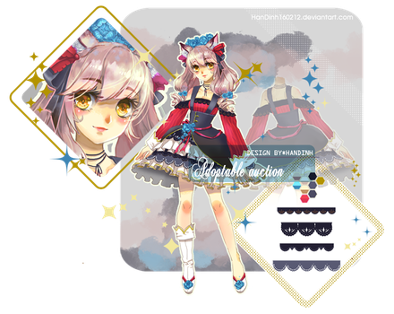 [AUCTION] [CLOSED] Adopt#002_Mesedi by HanDinh160212