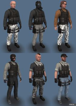 Red Team Urban by marze3d