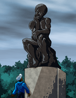 -Statue II- by Dualmask