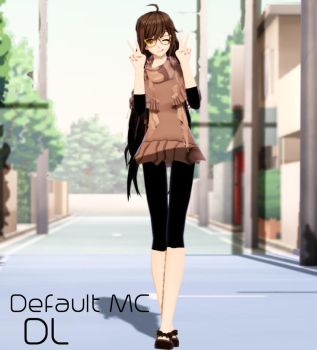 MMD Mystic Messenger Default MC DL 900+ Gift by ZKArti