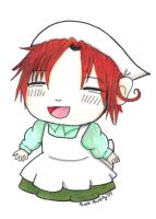 APH - Chibi Hetalia Colored by xXxSkullsxXx