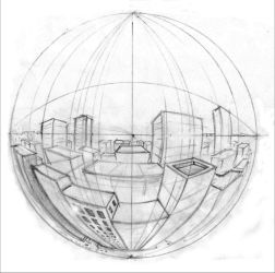 Five Point Perspective by awlaux
