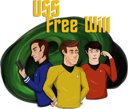 USS Free Will by K-EAR-AH