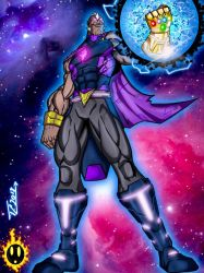 Tyrant with the Infinity Gauntlet  by Azreal2156