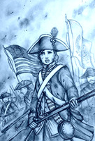 Ensign Ashley York of the Continental States by Gambargin