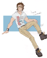 Douchenozzle Xander by The-Diet-Elf