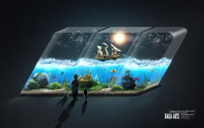 Aquarium | TheMoonFX Competition Entry by TheBakaArts