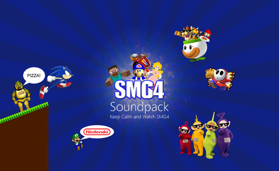 The SMG4 Soundpack by MinderiaYoutuber