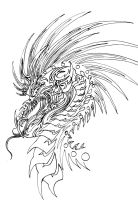 Dragon Tattoo by Nazgul666