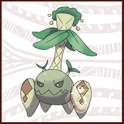 Palmsault, The Giant Seed Pokemon by KY-PHA