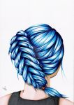 Blue Braid by JosMir