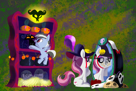 Getting ready for nightmare night! by EverfreeNW