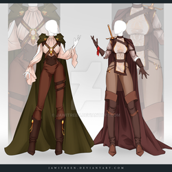 (CLOSED) Adoptable Outfit Auction 331-332