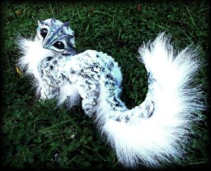 -SOLD-Posable Siberian Baby Dragon! by Wood-Splitter-Lee