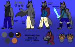 Jomo Reference Sheet (2016) by JomoOval