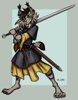 Nicole the Gallowglass by TheLivingShadow