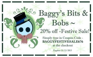 Etsy Coupon by BaGgY666