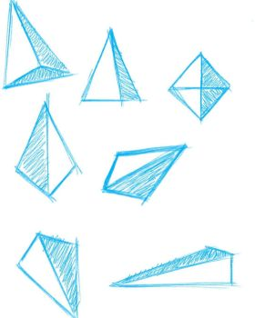 Basic Shapes Sketches 1 by ComicCorp