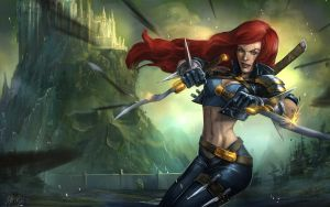 League of Legends: Katarina by t-biddy