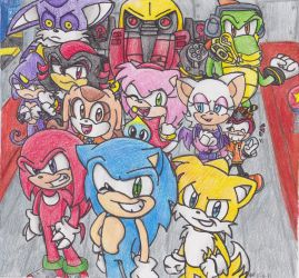 Sonic Heroes Collab by Shapoodle4u